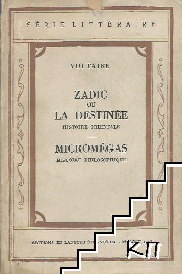 Zadig ou la Destinée. Micromegas