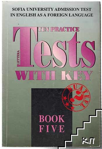 Ten practice tests with key. Book 5