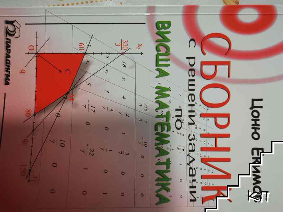 Сборник с решени задачи по висша математика