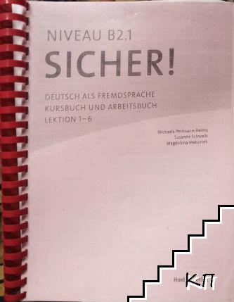 Sicher! B2.1 / Kursbuch und Arbeitsbuch. Lektion 1-6