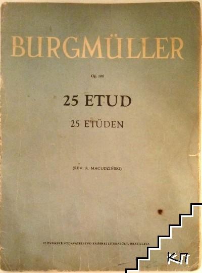 25 Etud / 25 Etüden. Op. 100