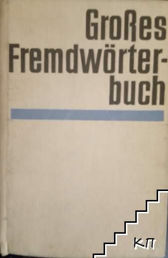 GroBes Fremdworterbuch
