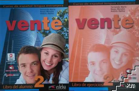 Vente 2: Libro del alumno / Vente 2: Libro de ejercicios