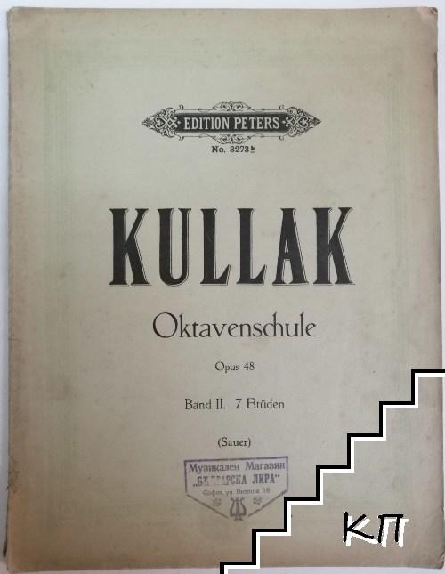 Oktavenschule. Opus 48. Band 2: 7 Etüden