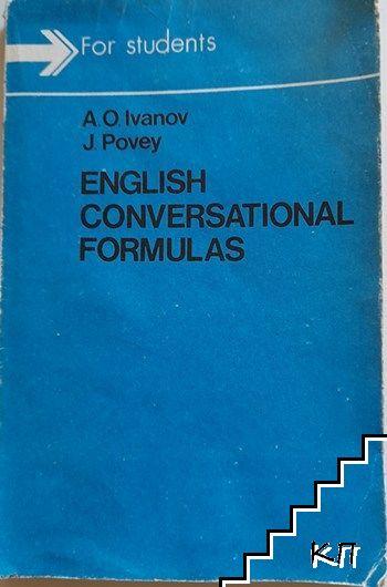 Еnglish conversational formulas