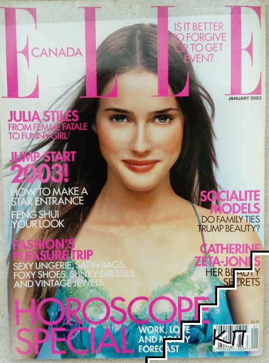 ELLE. Canada. Vol. 1 / 2003