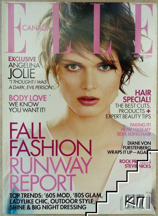 ELLE. Canada. Vol. 8 / 2003