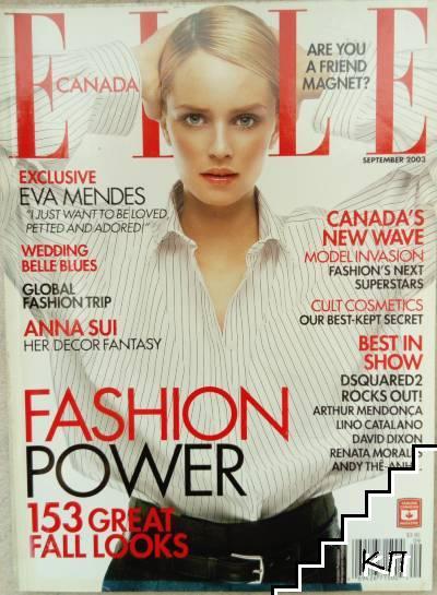Elle. Canada. Vol. 9 / 2003