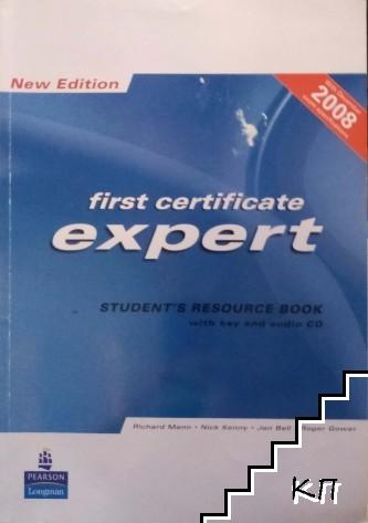 First Certificate Expert. Student's Resource Book