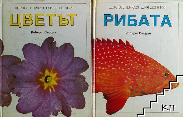 """Детска енциклопедия """"Що е то?"""". Том 1: Цветът / Детска енциклопедия """"Що е то?"""". Том 2: Рибата"""