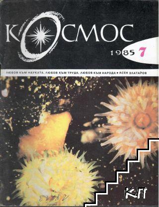 Космос. Бр. 7 / 1985