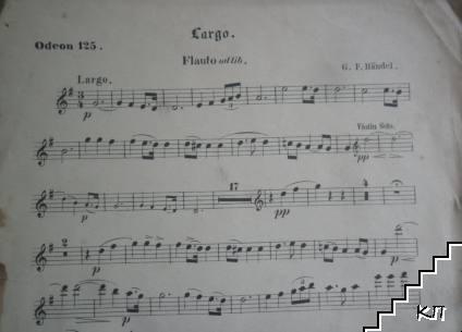 Largo. Violino 1-2, Flauto