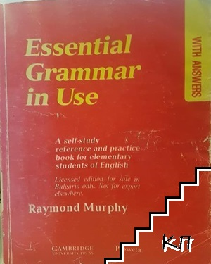 Essential Grammar in Use
