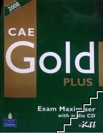CAE Gold Plus: Exam Maximiser + CD