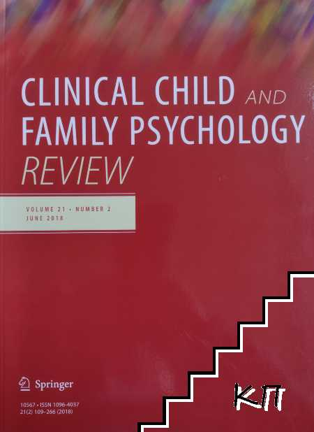 Clinical Child and Family Psychology Review. Vol. 21. № 2 / June 2018