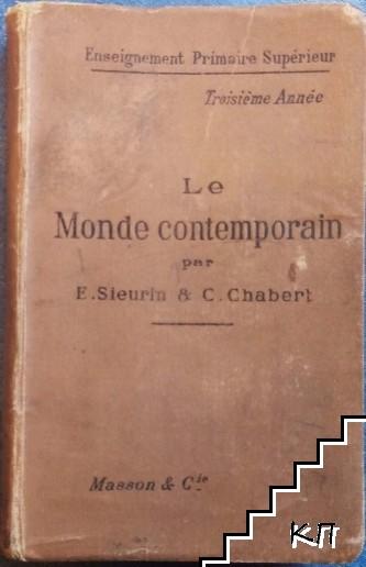 Le Monde contemporain: Cours d'histoire