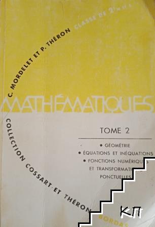 Collection de Mathematiques. Tome 2