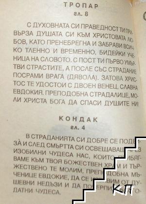 Света преподобномъченица Евдокия (Допълнителна снимка 1)