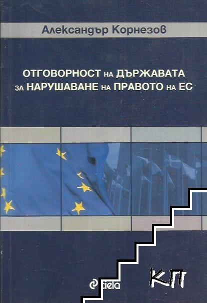 Отговорността на държавата за нарушаване на правото на ЕС