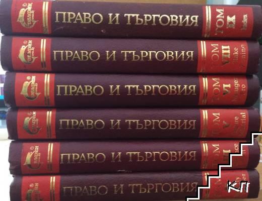 Световен речник по право търговия. Том 2-3, 5-6, 8-9