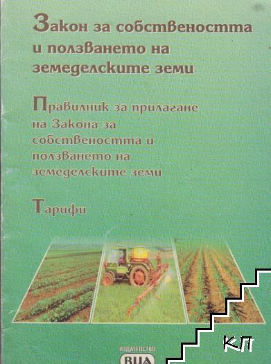 Закон за собствеността и ползването на земеделските земи