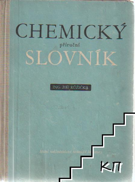 Chemický příruční slovník