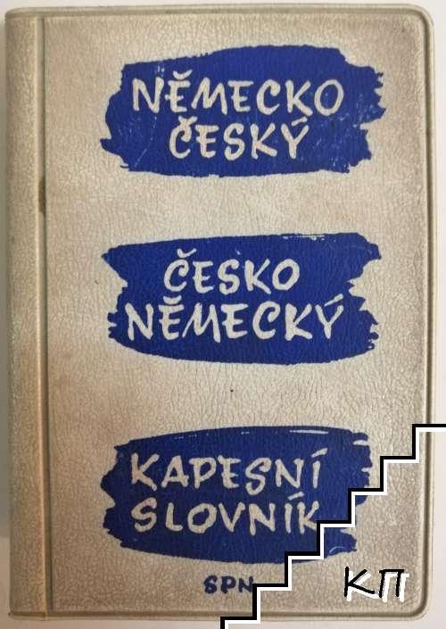 Německo-český a česko-německý kapesni slovník