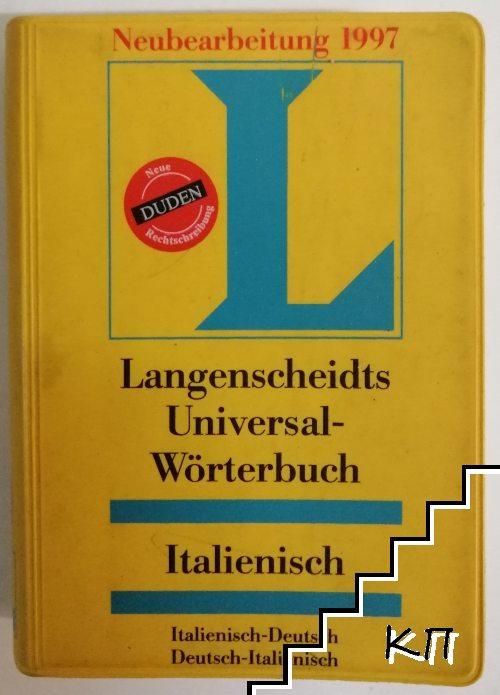 Langenscheidt Universal-Wörterbuch Italienisch: Italienisch-Deutsch / Deutsch-Italienisch