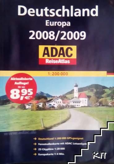Deutschland Europa 2008/2009 Reiseatlas