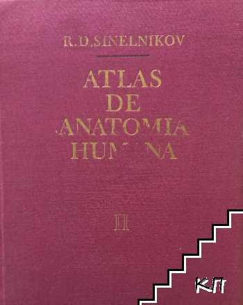 Atlas de anatomia humana en tres tomos. Tomo 2