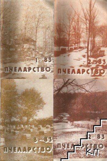 Пчеларство. Бр. 1-2, 8, 12 / 1983