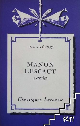 Manon Lescaut. Extraits