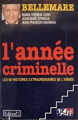 L'annee criminelle