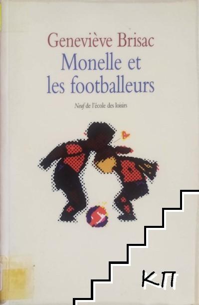 Monelle et les footballeurs