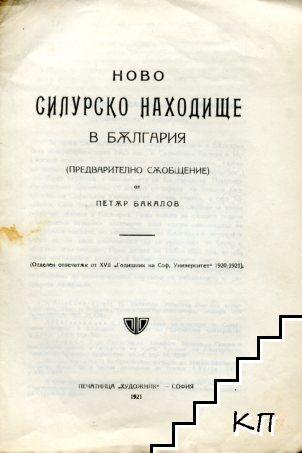 Ново Силурско находище в България