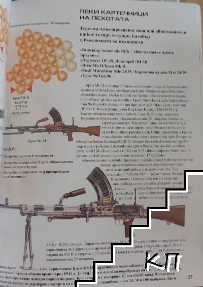 Оръжия от Втората световна война: пистолети, автомати, пушки и картечници (Допълнителна снимка 1)