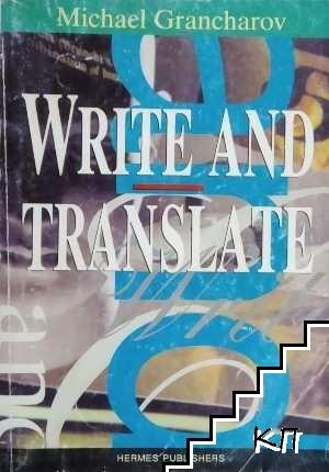 Write and Translate