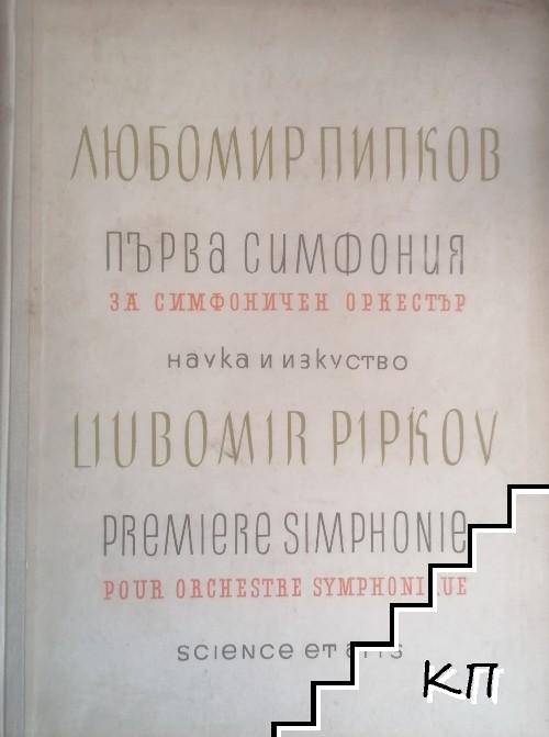 Първа симфония за симфоничен оркестър