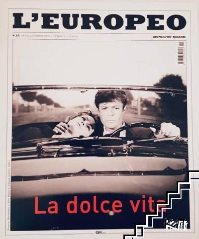 L'Europeo. Бр. 33 / август-септември 2013