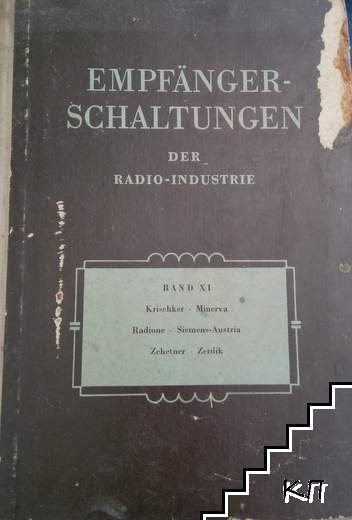 Empfänger-Schaltungen der Radio-Industrie. Band 9