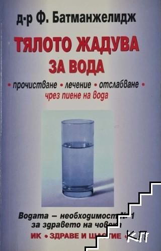 Тялото жадува за вода