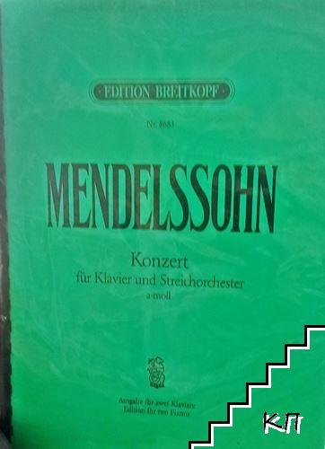 Konzert fur und Streichorchester a- moll