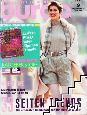Burda Moden. Grosse 9 / 1993
