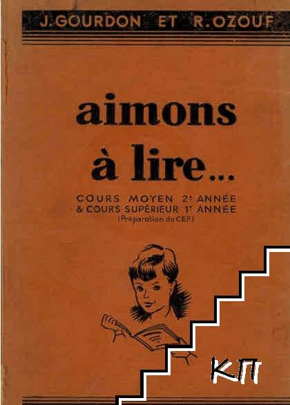 Aimons á lire