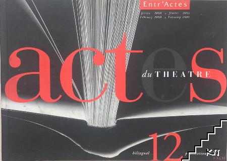 Actes du Theatre. 12/2001