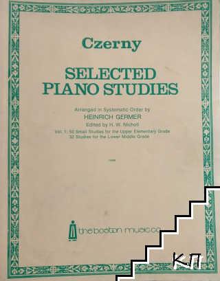Selected Piano Studies. Vol. 1