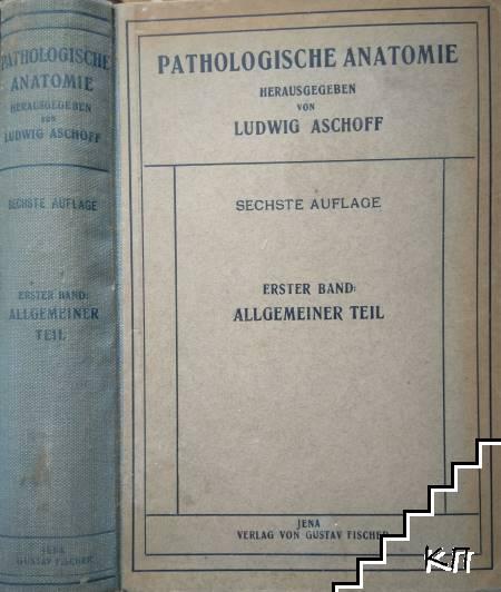 Pathologische Anatomie. Band 1: Allgemeine Ätiologie, allgemeine Pathologische Anatomi