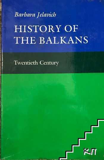 History of the Balkans. Vol. 2