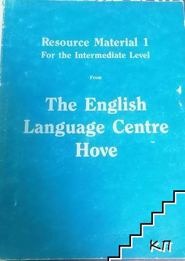 Resource Material 1 from the Intermediate level from The English Language Centre Hove